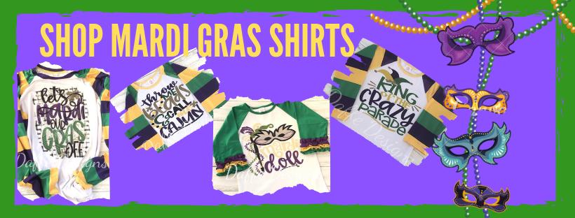 Shop mardi gras shirts